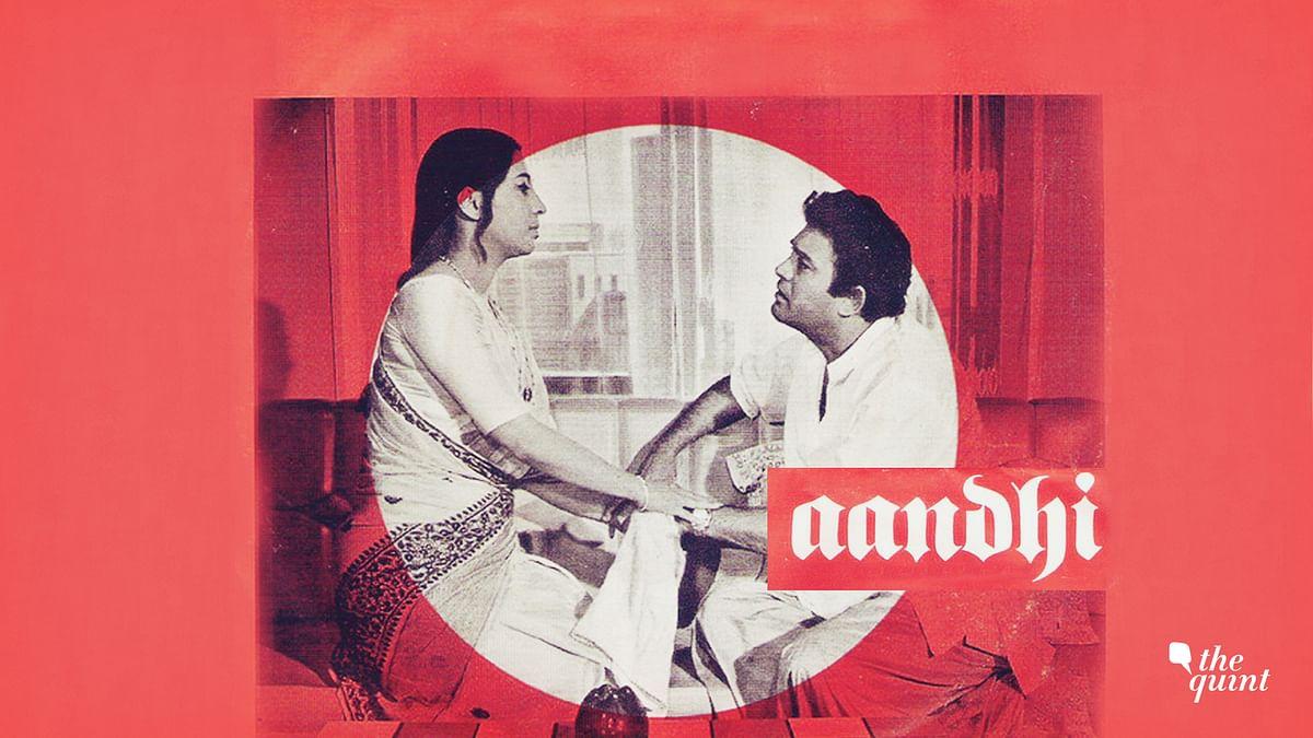 Aandhi (1975) poster used for representational purposes.