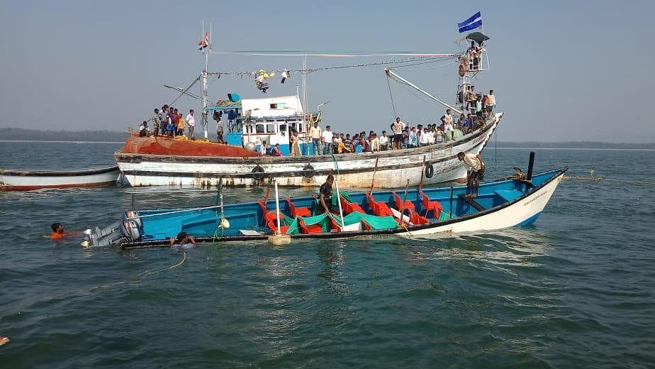 14 Dead, 18 Rescued After Boat Capsizes Near Karwar in Karnataka