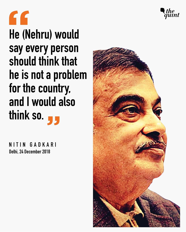 Which Neta Spun Dreams? Only Nitin Gadkari Knows the Answer