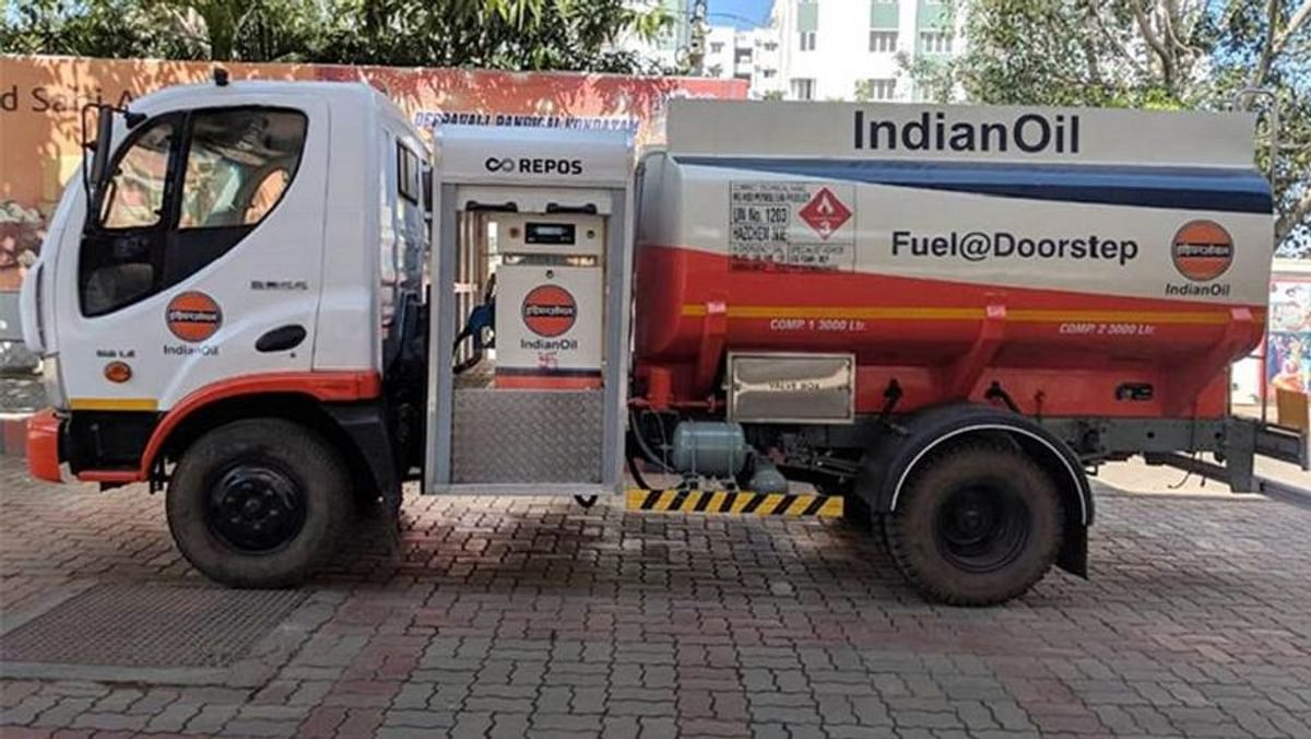 Diesel Delivery Truck Launched By Indian Oil