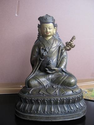 Exhibition on Guru Padmasambhava. (Photo Source: IIC)
