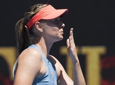 Maria Sharapova. (Xinhua/Lui Siu Wai/IANS)