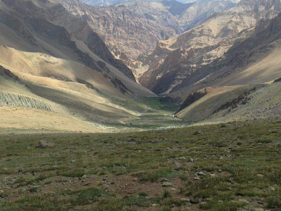 Zanskar Valley.