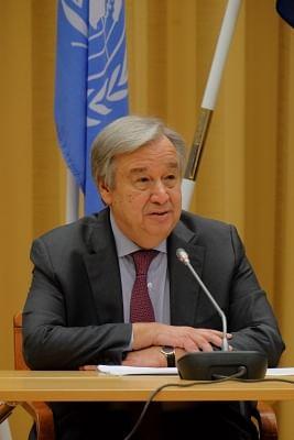 UN Secretary-General Antonio Guterres. (File Photo: Xinhua/Rob Schoenbaum/IANS)