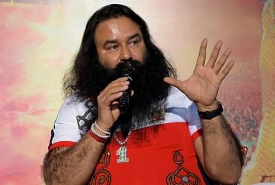 Godman-turned-actor Gurmeet Ram Rahim Singh. (File Photo: IANS)