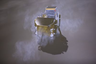 China's space probe lands on Moon's far side