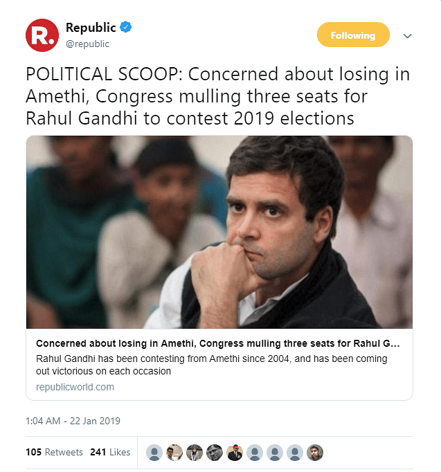 Media Says Rahul Might  Contest LS Polls From 3 Seats, But Can He?