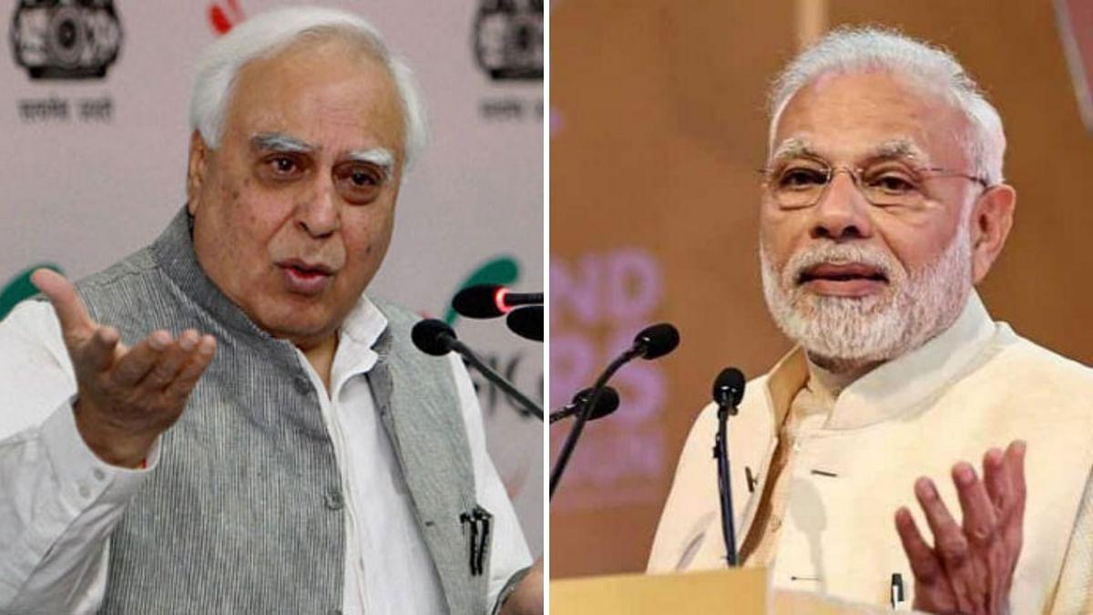 Cong Has to Answer: Modi Attacks Sibal Over London EVM Press Meet