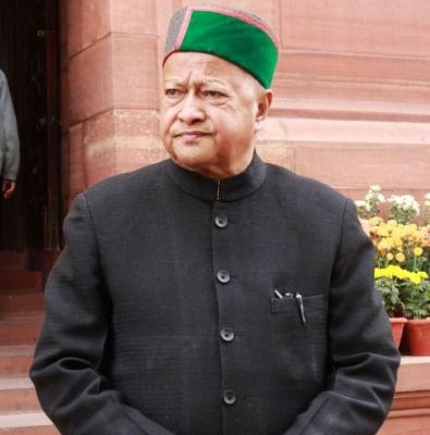 Former Himachal Pradesh Chief Minister Virbhadra Singh. (File Photo: IANS)