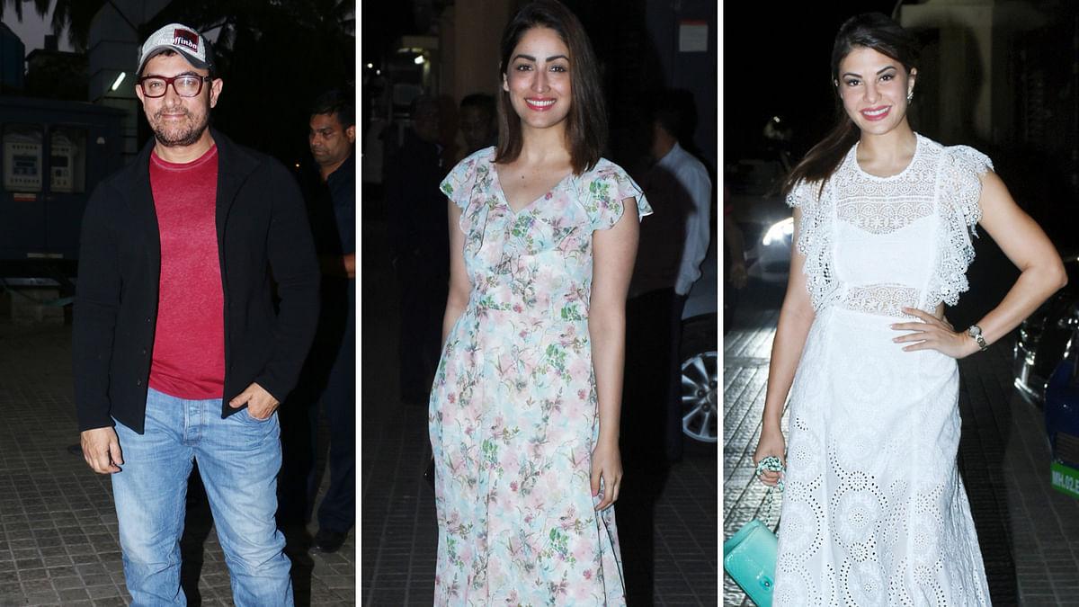 Yami, Swara, Sanya & More  at Aamir's 'Rubaru Roshni' Screening