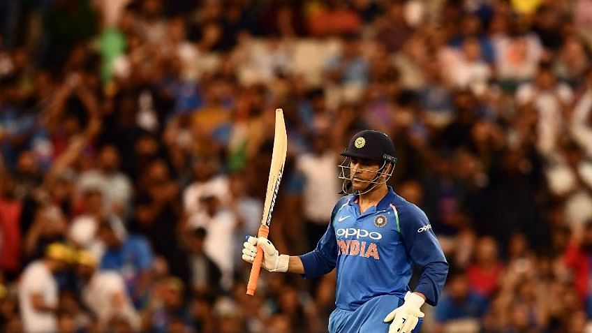 MS Dhoni's unbeaten 87 helped India beat Australia by 7 wickets in third ODI at Melbourne.