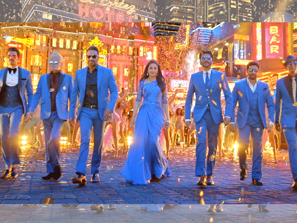 A still from 'Paisa Paisa' from <i>Total Dhamaal</i>.&nbsp;
