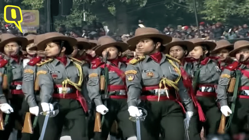 Led by Maj Kanwar, First Ever All-Women Contingent At R-Day Parade