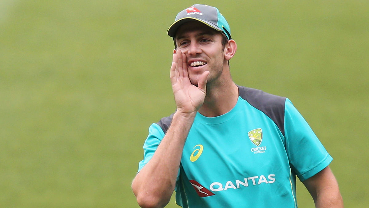 Mitchell Marsh has been ruled out of the first ODI after being hospitalised.