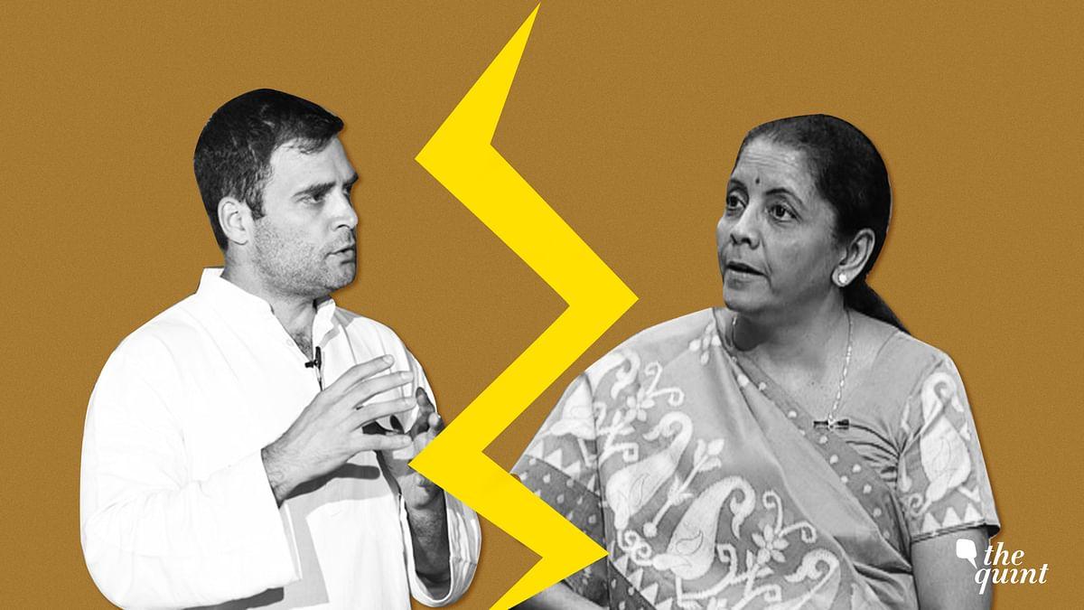 Rahul vs Sitharaman on Rafale: What Went Down in the Lok Sabha