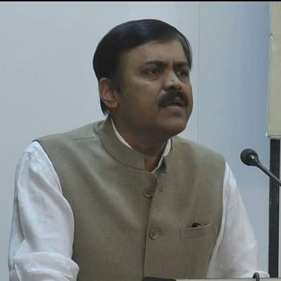 Bharatiya Janata Party leader GVL Narasimha Rao. (Photo: Twitter/@GVLNRAO)