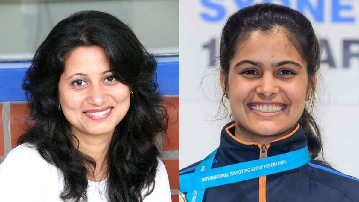 Former World no 1 shooter Anjali Bhagwat spoke out in support of Manu Bhaker.