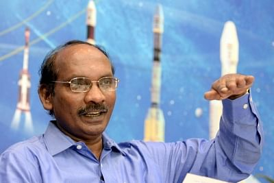K. Sivan. (File Photo: IANS)