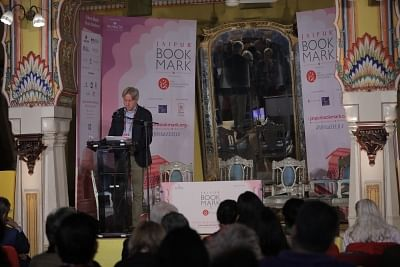 Keynote address of Jaipur BookMark by Jeurgan Boos, President and CEO of Frankfurt Book Fair.
