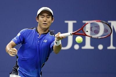 Yoshihito Nishioka. (Xinhua/Li Muzi/IANS)