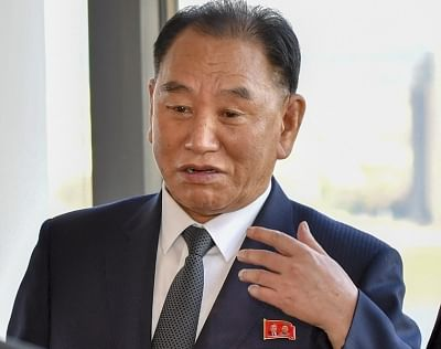 Kim Yong-chol, the envoy of North Korean (Photo: State Dept./IANS)