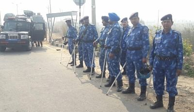 Rohtak: Security beefed up ahead of the sentencing of convicted Dera Sacha Sauda sect chief Gurmeet Ram Rahim Singh and his three close aides by a special CBI court, in Haryana