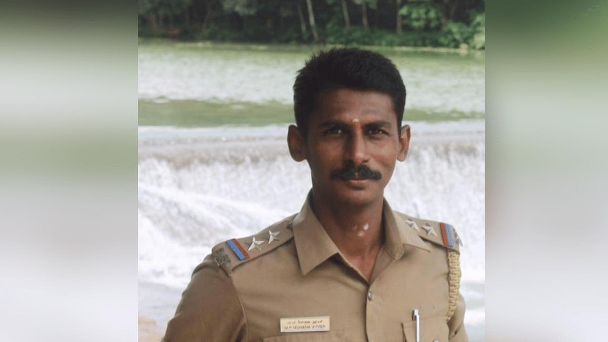 Mohaha Aiyer, SI from Kaliyakkavilai police station.