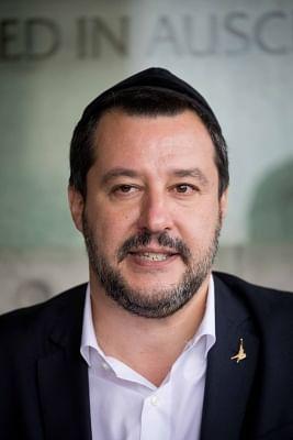 Matteo Salvini. (Xinhua/JINI/IANS)