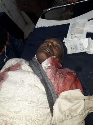 Muzaffarpur: Mortal remains of  BJP leader Baiju Prasad Gupta who was shot dead by an unidentified person in Bihar