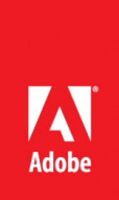 Adobe logo. (File Photo: IANS)