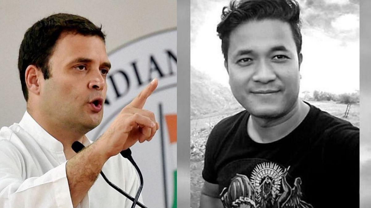 Rahul Gandhi Writes Letter to  Manipur Journalist Jailed Under NSA