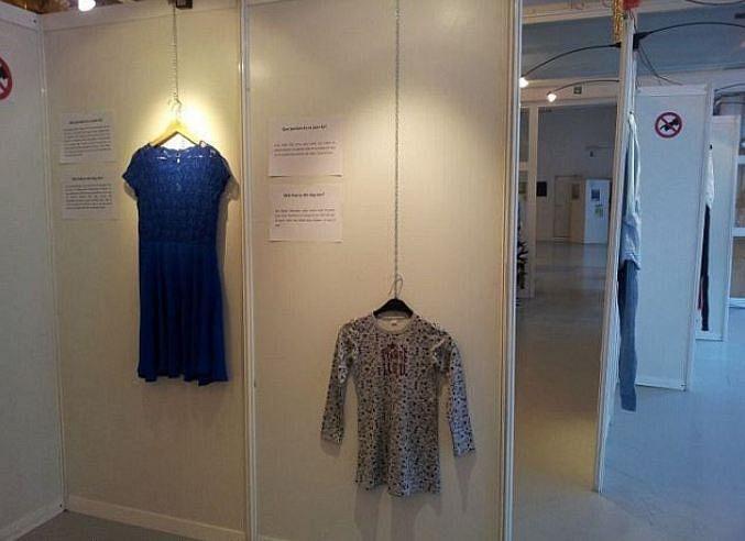 Exhibition of Rape Survivors' Clothes to Fight 'Victim Shaming'