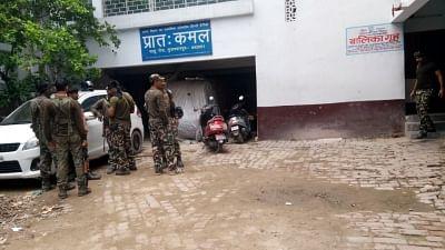 Muzaffarpur: Central Bureau of Investigation (CBI) officials conduct search operation at the shelter home in Bihar