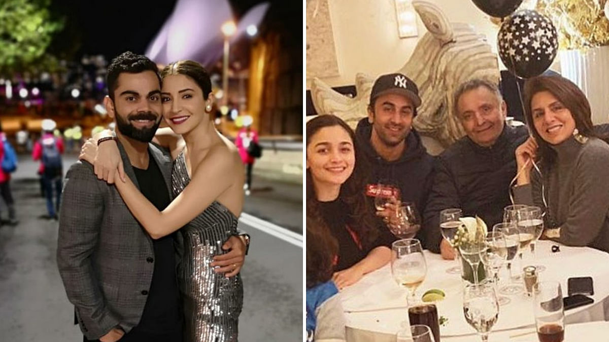 Bollywood took to social media to share New Year wishes with fans.