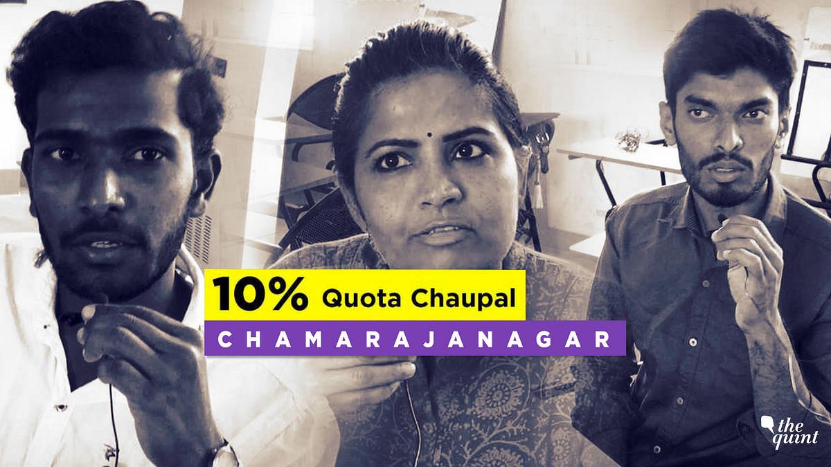10% Quota Bill a Gimmick, Say Youth in Karnataka's Chamarajanagar
