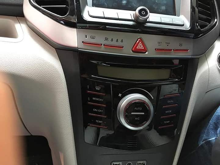 The XUV300 sports dual-zone automatic climate control, a first-in-segment feature.