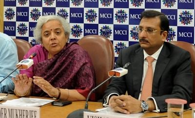 "Kolkata: National Insurance CMD Tajinder Mukherjee  during a special session organised by MCCI on ""Way Forward for Insurance Industry in India"" in Kolkata on Jan 29, 2019. (Photo: IANS)"
