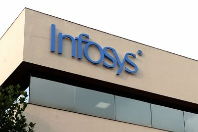 Infosys office. (File Photo: IANS)