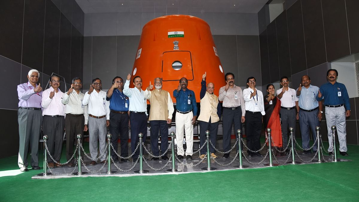 Indian Space Research Organisation (ISRO) unveiled its Human Space Flight Centre in Bengaluru on Wednesday, 30 January.