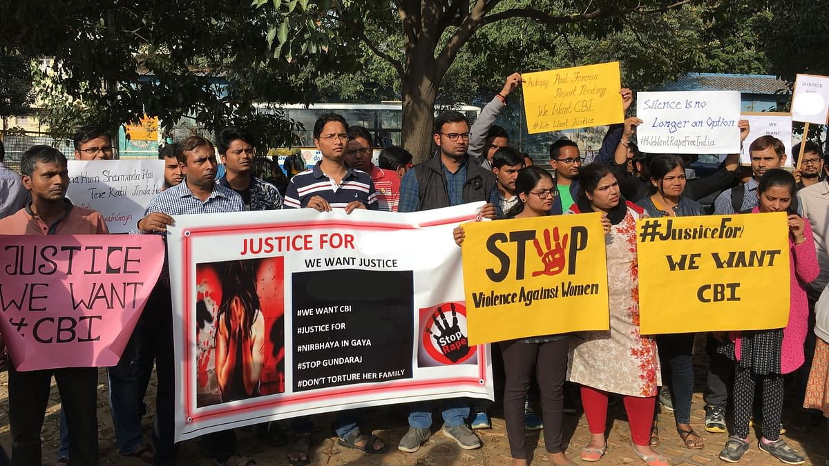 In Bengaluru, People From Bihar  Demand Justice in Gaya Rape Case
