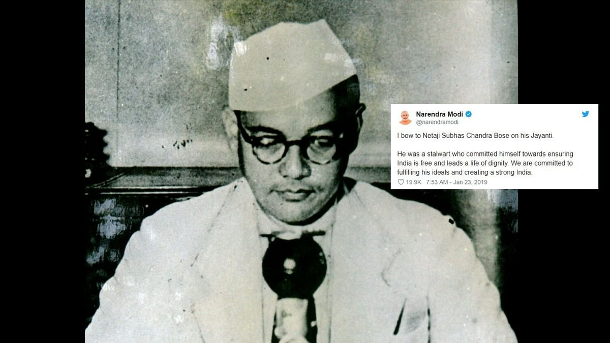 Subhas Chandra Bose was made the president of the Congress in 1938.