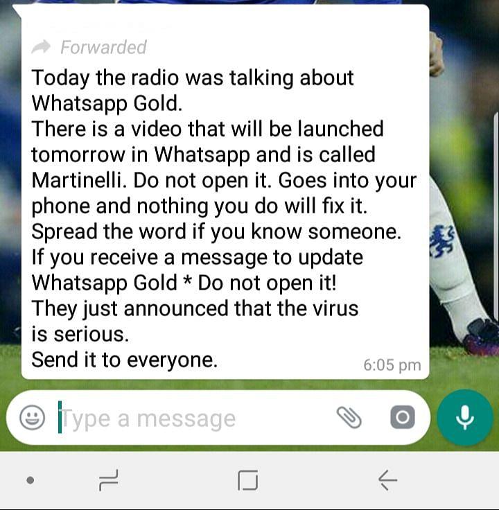 Do Not Download 'WhatsApp Gold' Update: It Is a Virus!