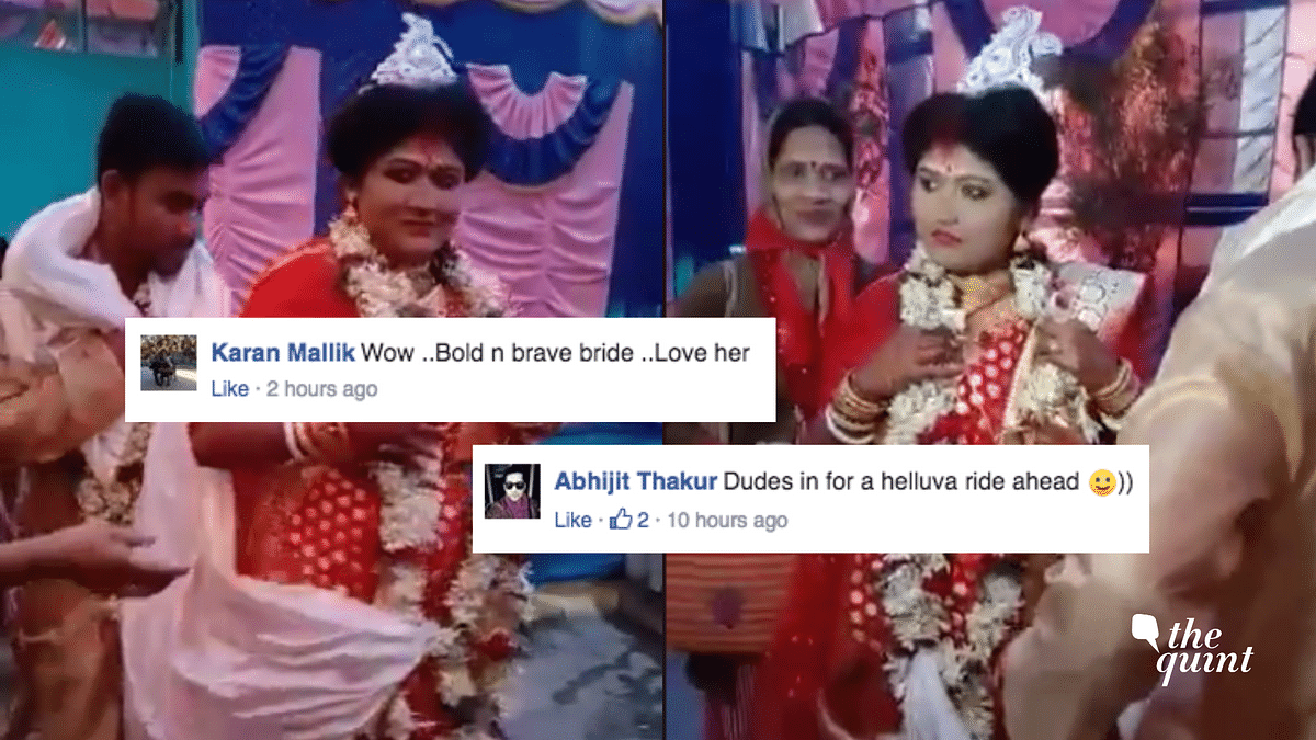 'You Go Girl!': Netizens Can't Get Enough of Badass Bengali Bride