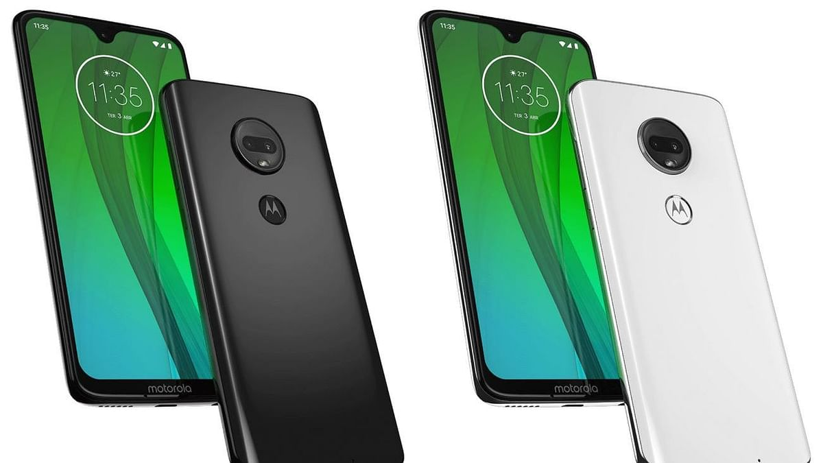 Leaked renders of the upcoming Motorola Moto G7.
