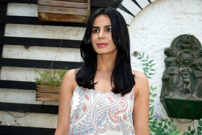 """New Delhi: Actress Kirti Kulhari during a press conference to promote her upcoming film """"Indu Sarkar"""" in New Delhi on July 25, 2017. (Photo: IANS)"""