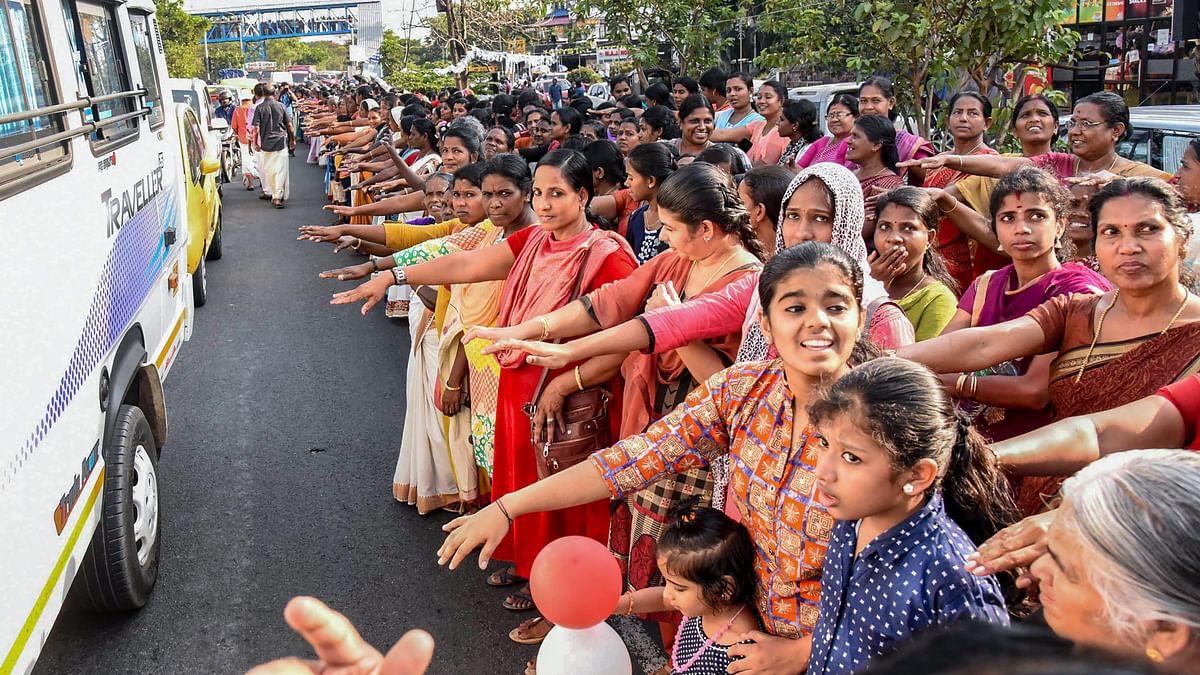 Sabarimala Row: Kerala Women Form Human Wall for Gender Equality