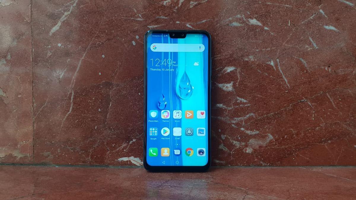 The phone packs a 6.5-inch screen.