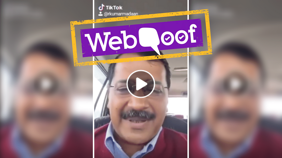 A viral video falsely claims that Delhi Chief Minister Arvind Kejriwal was drunk.