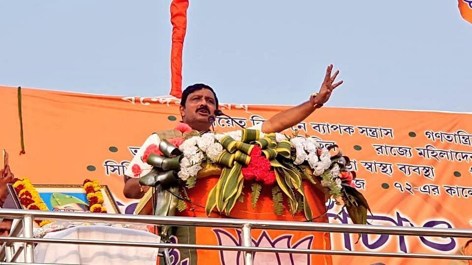 BJP National Secretary Rahul Sinha.