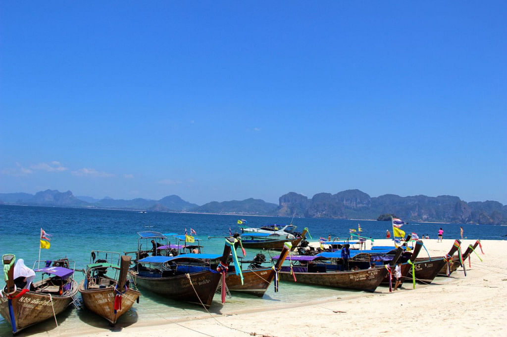 Indian tourists haven't really discovered Krabi yet.